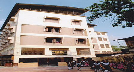 Ideal High School and Jr. College Bldg. at Rabodi Thane