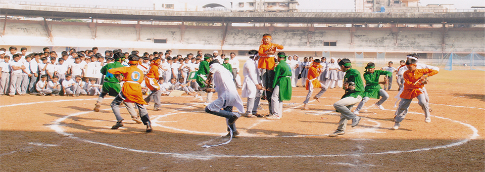 Annual Sports organised in Dadoji Konddev Stadium, Thane